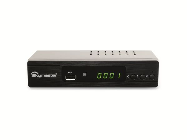 DVB-S Receiver SKYMASTER DXH 310 HDTV, HDMI, Scart, schwarz, USB, - Produktbild 1