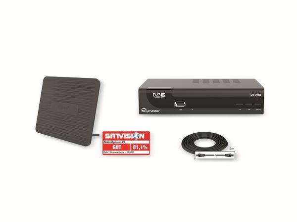 DVB-T Receiver SKYMASTER DT-2HD Set mit DVB-T Antenne