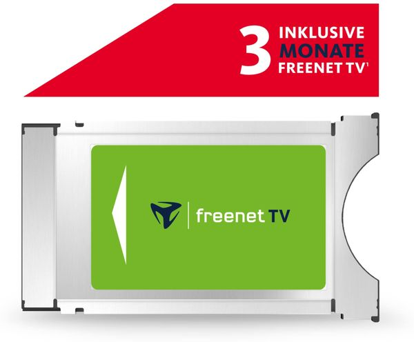 freenet TV CI+ Modul, DVB-T2, 3 Monate