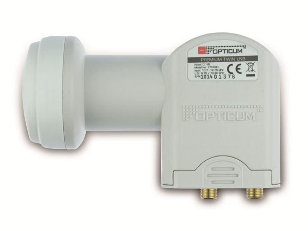Twin-LNB OPTICUM LTP-04H - Produktbild 1