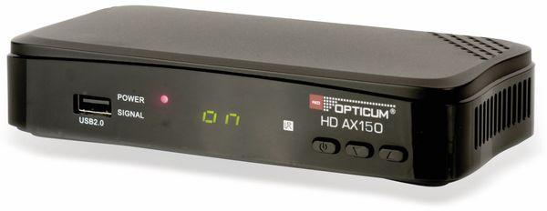 DVB-S HDTV Receiver RED OPTICUM AX HD 150