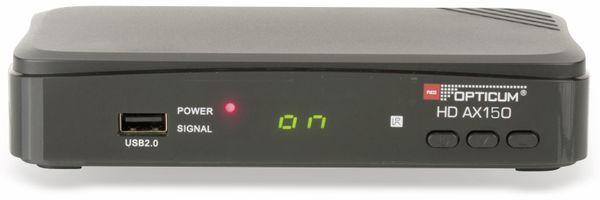DVB-S HDTV Receiver RED OPTICUM AX HD 150 - Produktbild 2