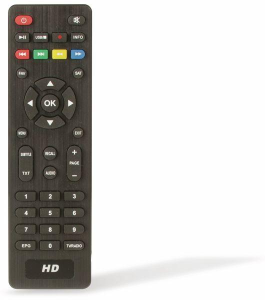 DVB-S HDTV Receiver RED OPTICUM AX HD 150 - Produktbild 4