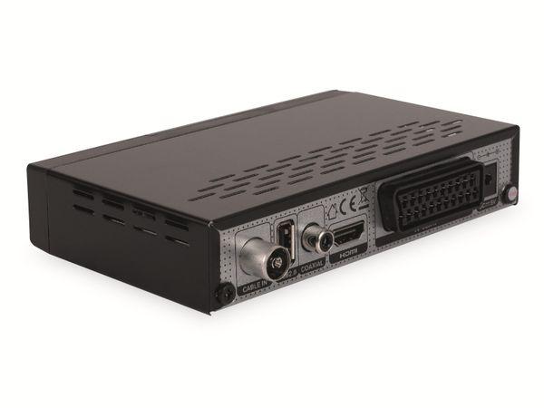 DVB-C HDTV-Receiver RED OPTICUM AX C100 HD, schwarz - Produktbild 3