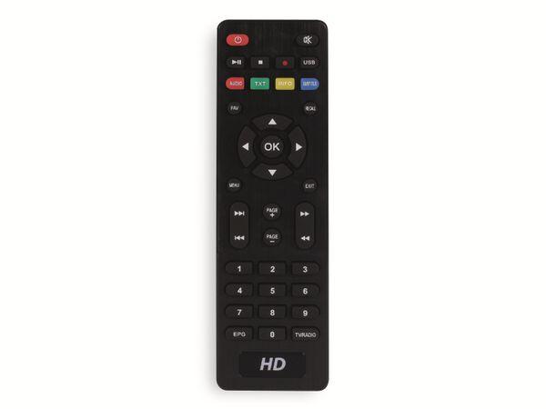 DVB-C HDTV-Receiver RED OPTICUM AX C100 HD, schwarz - Produktbild 7