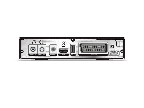 DVB-C HDTV-Receiver OPTICUM AX C100 HD, PVR, schwarz - Produktbild 2