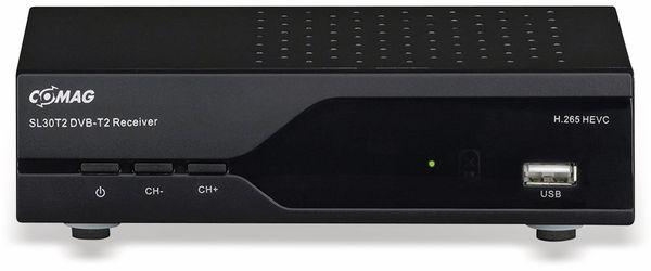 DVB-T2 Receiver COMAG SL30T2, FTA, USB, Scart, HDMI - Produktbild 1