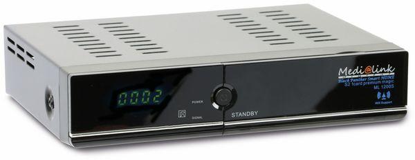 SAT HDTV-Receiver MEDI@LINK Black Panther Smart HOME S2 1 ML 1200S, B-Ware - Produktbild 1
