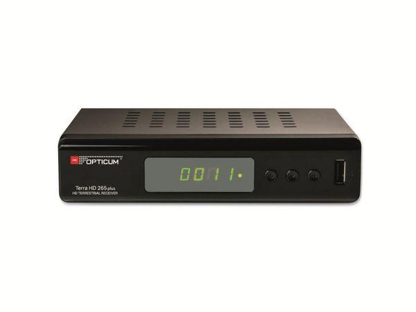 DVB-T2 HDTV-Receiver OPTICUM Terra HD 265 - Produktbild 1