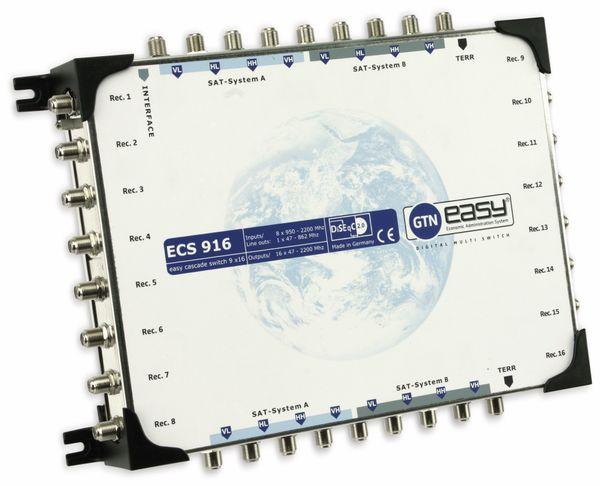 SAT-Multischalter-Kaskade GTN easy ECS 916, 9/16, DiSEqC 2.0 - Produktbild 1