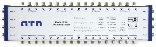 SAT-Multischalter-Kaskade GTN easy KAS 1708, 17/8, DiSEqC 2.0 - Produktbild 1