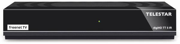 DVB-T2 HDTV-Receiver TELESTAR digiHD TT5 IR, freenet TV, B-Ware - Produktbild 1