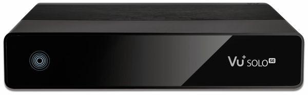 DVB-S HDTV Receiver VU+ Solo SE V2, Linux, schwarz, B-Ware - Produktbild 1