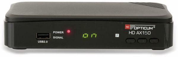 DVB-S HDTV Receiver RED OPTICUM AX HD 150, PVR