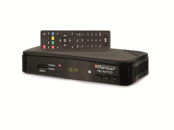 DVB-S HDTV Receiver OPTICUM AX HD 150, PVR - Produktbild 2
