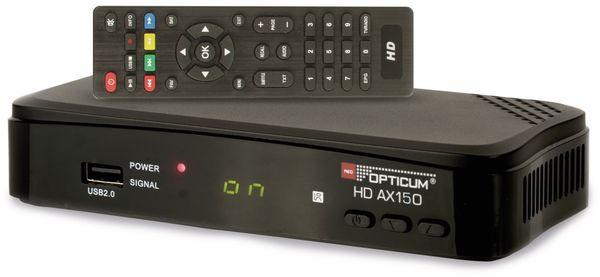 DVB-S HDTV Receiver RED OPTICUM AX HD 150, PVR - Produktbild 2