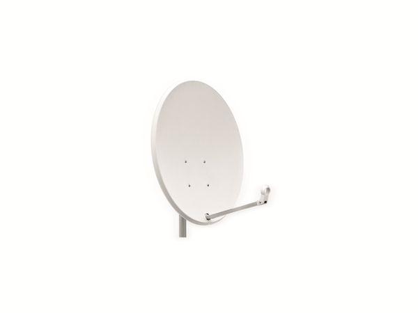 SAT-Antenne OPTICUM X80, Stahl, lichtgrau, 80 cm - Produktbild 1
