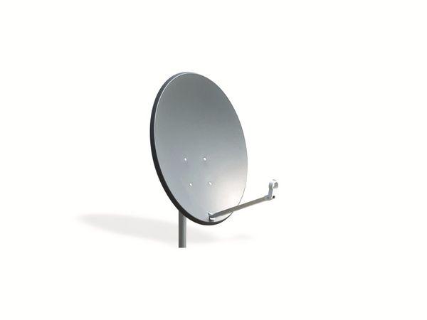 SAT-Antenne OPTICUM X80, Stahl, anthrazit, 80 cm