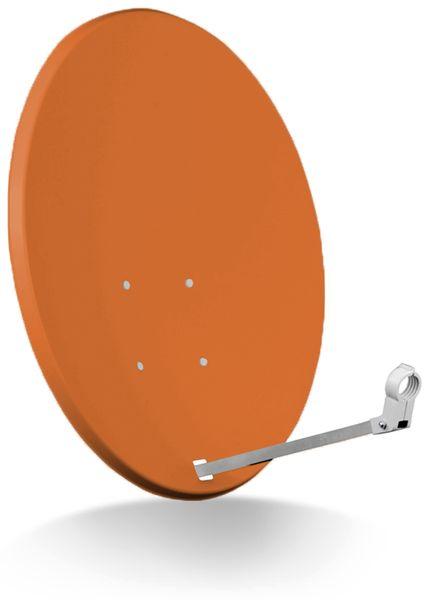 SAT-Antenne RED OPTICUM X80, Stahl, ziegelrot, 80 cm