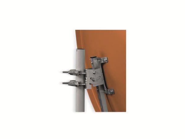 SAT-Antenne OPTICUM X80, Stahl, ziegelrot, 80 cm - Produktbild 2