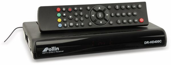 DVB-C HDTV-Receiver DR-HD400C