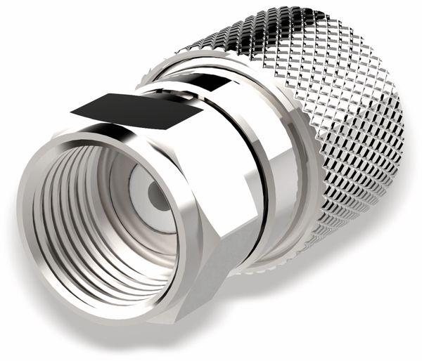 F-Stecker, PURELINK, 7,4 mm, verschraubbar, 5 Stück - Produktbild 1