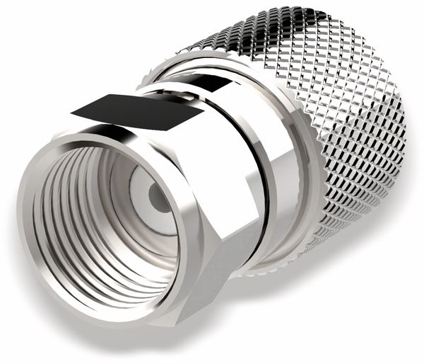 F-Stecker, PURELINK, 8,4 mm, verschraubbar, 10 Stück - Produktbild 1