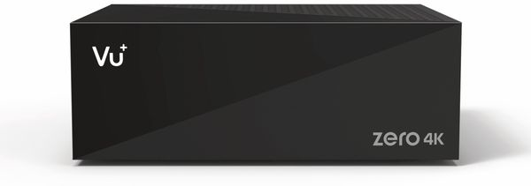DVB-S HDTV Receiver VU+ Zero 4K, Linux, schwarz