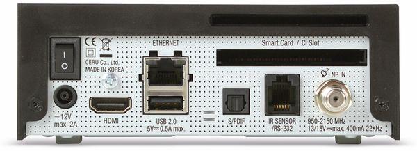 DVB-S HDTV Receiver VU+ Zero 4K, Linux, schwarz - Produktbild 3