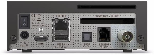DVB-C HDTV Receiver VU+ Zero 4K, Linux, schwarz - Produktbild 3