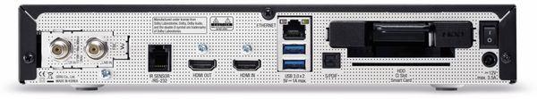 DVB-S HDTV Receiver VU+ Uno 4K SE, Linux, schwarz - Produktbild 3