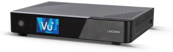 DVB-C HDTV Receiver VU+ Uno 4K SE, Linux, schwarz - Produktbild 1