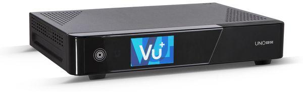 DVB-C HDTV Receiver VU+ Uno 4K SE, Linux, schwarz - Produktbild 2