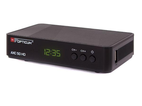 DVB-C HDTV-Receiver OPTICUM AX C50 - Produktbild 1