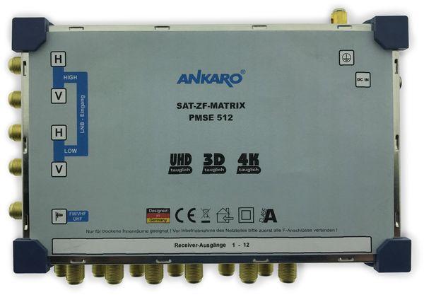 SAT-Multischalter ANKARO PMSE512, 5/12 - Produktbild 1