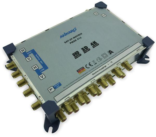 SAT-Multischalter ANKARO PMSE512, 5/12 - Produktbild 2