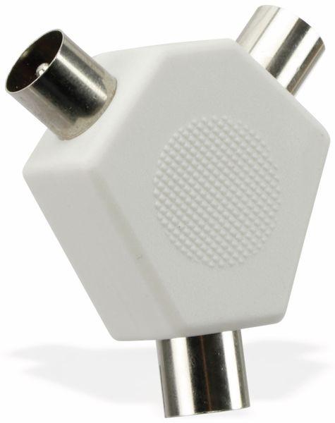 Antennenverteiler PHILIPS SWV2556W/10, 2-fach - Produktbild 1