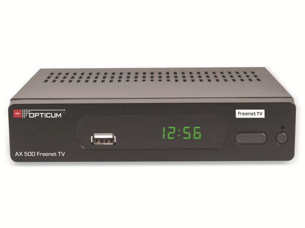 DVB-T2 Receiver OPTICUM AX 500 Freenet TV - Produktbild 1