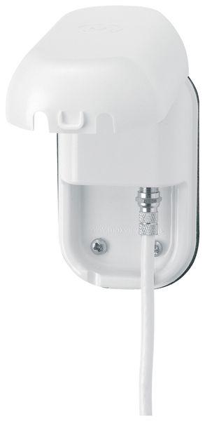 Fahrzeug-Antennendose MAXVIEW, Außen, F-Anschluss, weiß