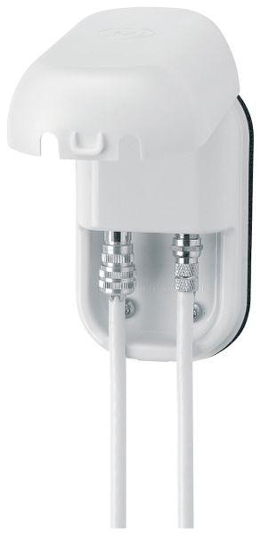 Fahrzeug-Antennendose MAXVIEW, Außen, Koax-/F-Anschluss, weiß
