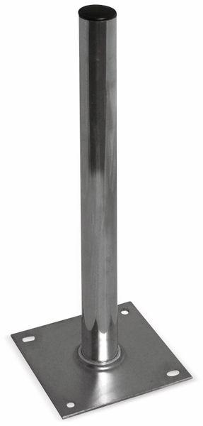 Sat-Standfuß, Alu, 60 cm, 50 mm Rohr