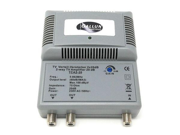 BK-Antennenverstärker GALLUN TCA2-20 BK