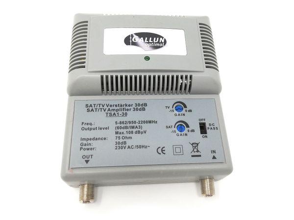 BK/Sat-Antennenverstärker GALLUN TSA1-30 Sat/BK