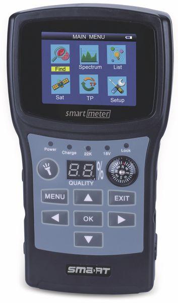 Sat-Messgerät SMARTMETER ES1, Signalton, Kompass, DVB-S2