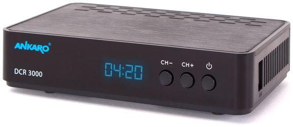 DVB-C HDTV-Receiver ANKARO DCR 3000, PVR - Produktbild 1