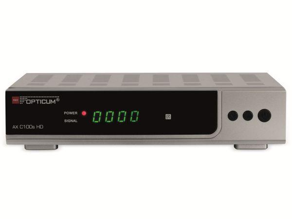 DVB-C HDTV-Receiver OPTICUM AX C100s HD, silber