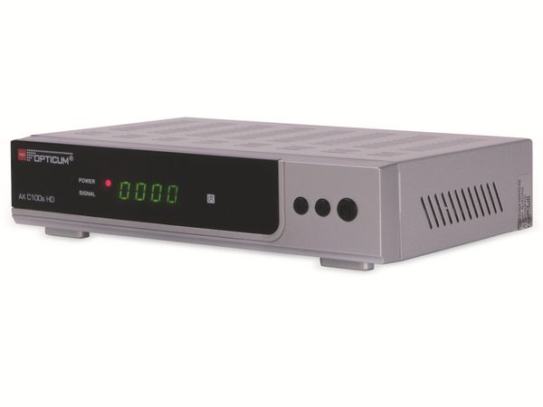 DVB-C HDTV-Receiver OPTICUM AX C100s HD, silber - Produktbild 2