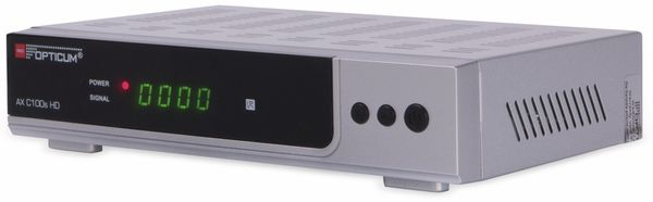 DVB-C HDTV-Receiver RED OPTICUM AX C100s HD, silber - Produktbild 2