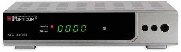 DVB-C HDTV-Receiver RED OPTICUM AX C100s HD, silber, PVR
