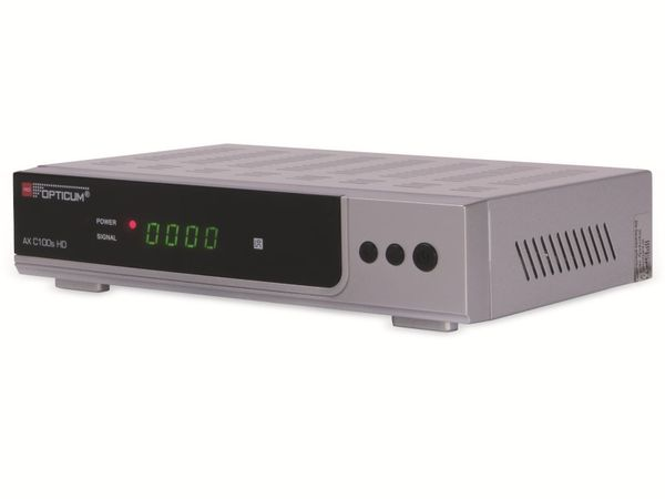 DVB-C HDTV-Receiver OPTICUM AX C100s HD, silber, PVR - Produktbild 2